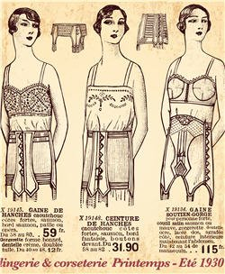 1930 catalogue lingerie