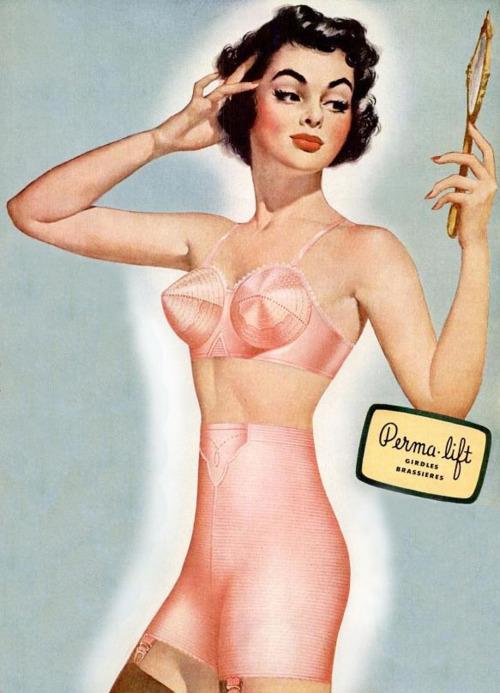 1950 publicité lingerie