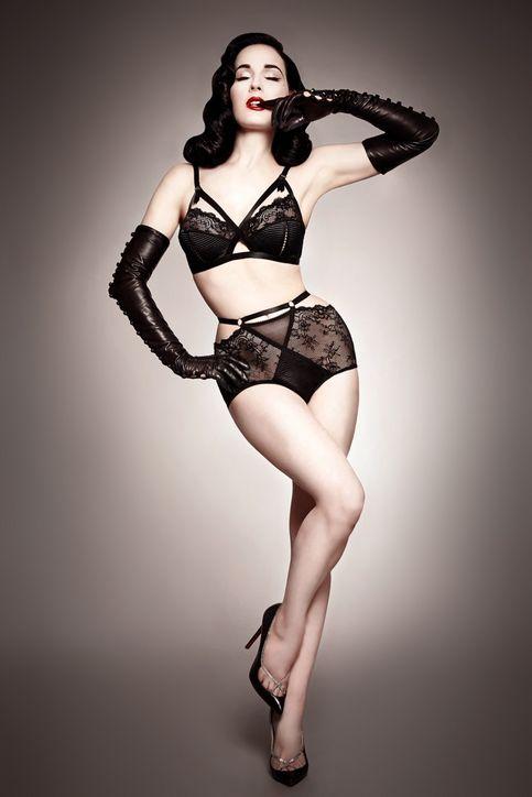 dita-von-teese-lingerie