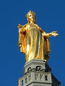 Statue Vierge Lyon