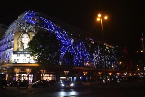 Facade Galeries Lfayette