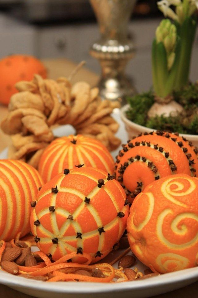 deco table clementines