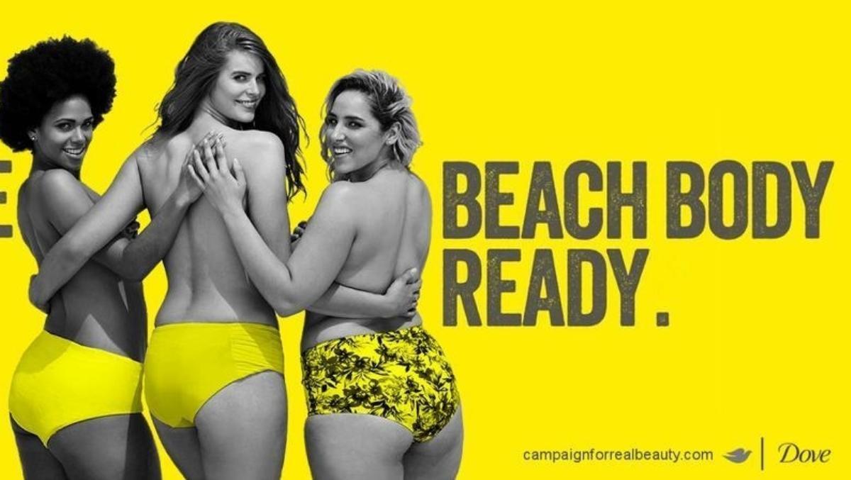 corps prêt pour la plage