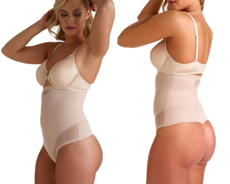 String taille haute - Sexy Sheer Shaping by Miraclesuit Shapewear