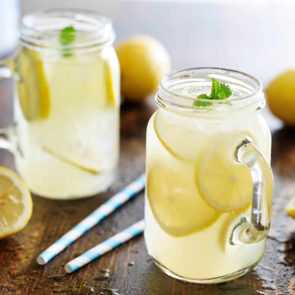 Detox eau citronnée